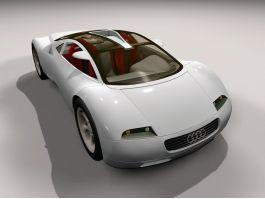Audi Avus Quattro Concept 3d preview