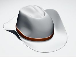 Western Cowboy Hat 3d preview