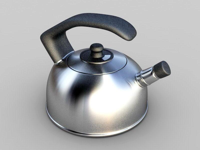Cooking Kettle 3d rendering