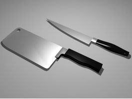 Kitchen Knives 3d preview