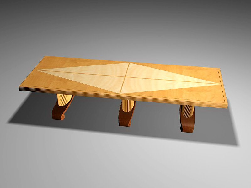 Conference Room Furniture 3d rendering