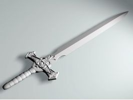 Dark Knight Sword 3d preview