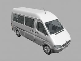 Mercedes-Benz Sprinter 3d preview