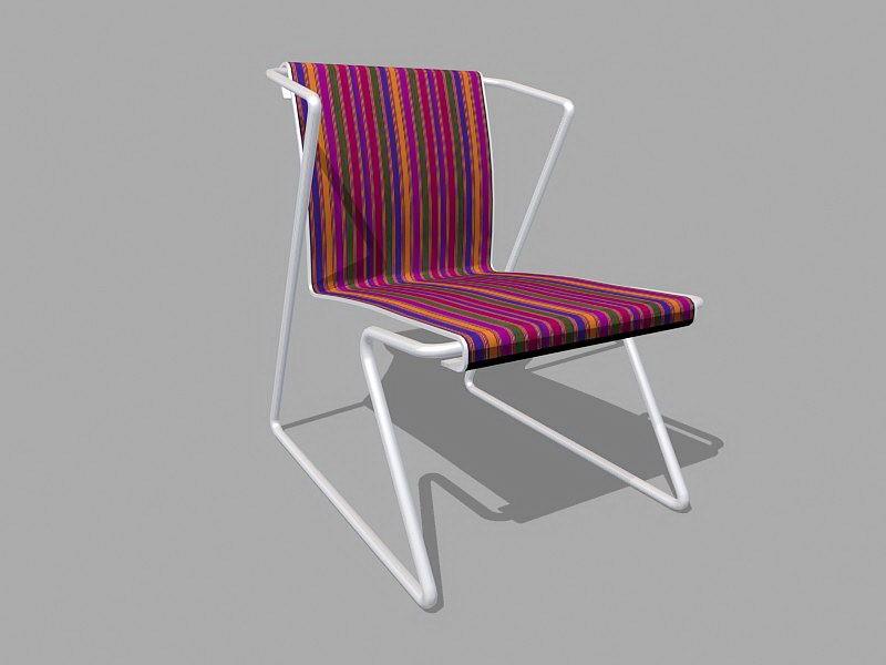 Garden Patio Chair 3d rendering