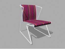 Garden Patio Chair 3d preview