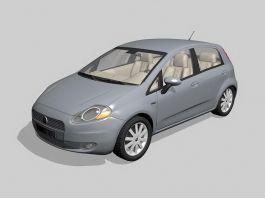 Fiat Punto Car 3d preview