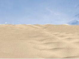 Desert Sand Dunes 3d preview