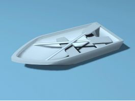 Lake Pond Boat 3d preview