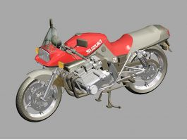 Suzuki Katana Motorcycle 3d preview