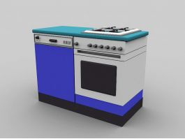 Cooking Stove 3d preview