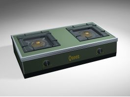 Queen Gas Stove 3d preview