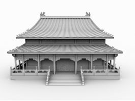 Chinese Royal Palace 3d preview