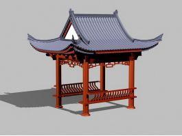 Oriental Pavilion 3d preview