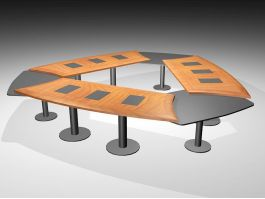 Conference Meeting Table 3d preview