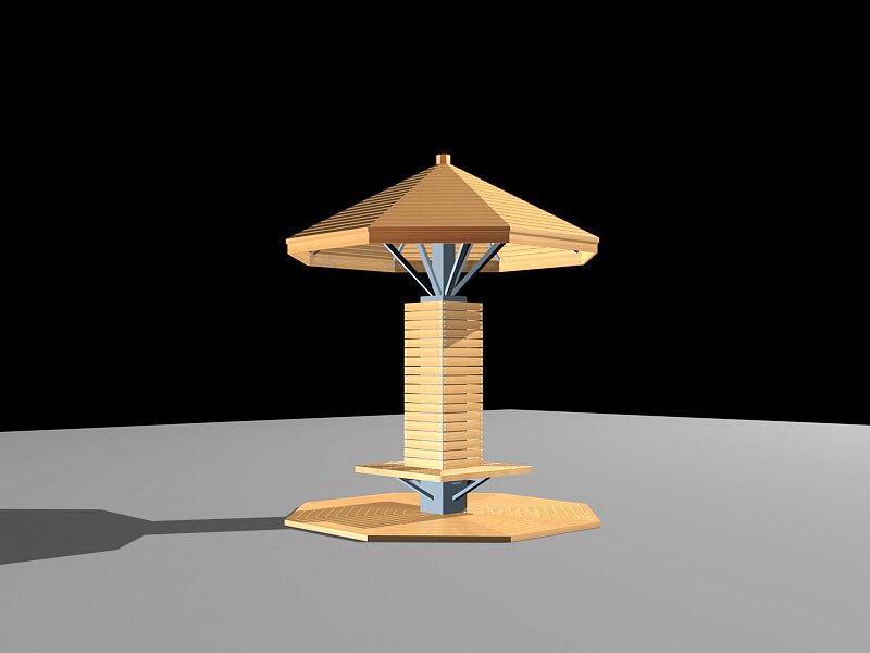 Garden Pavilion 3d rendering