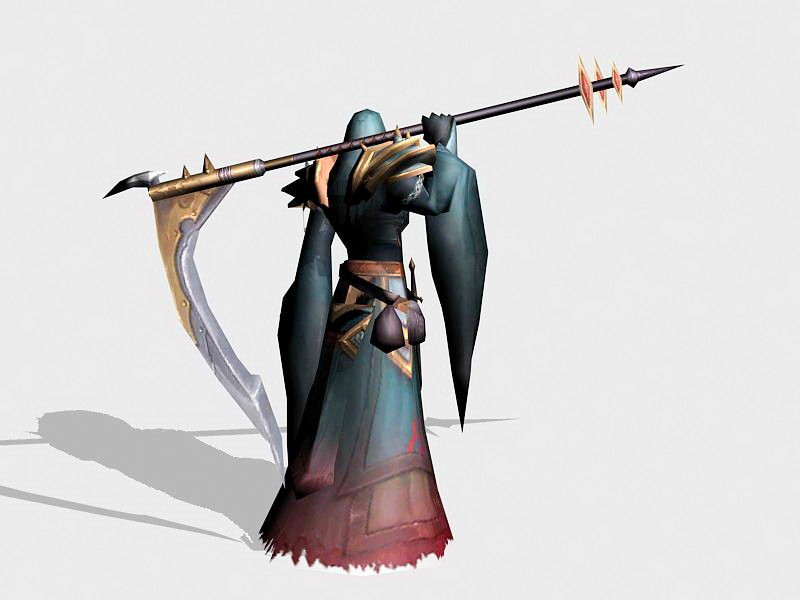 Death Reaper 3d rendering