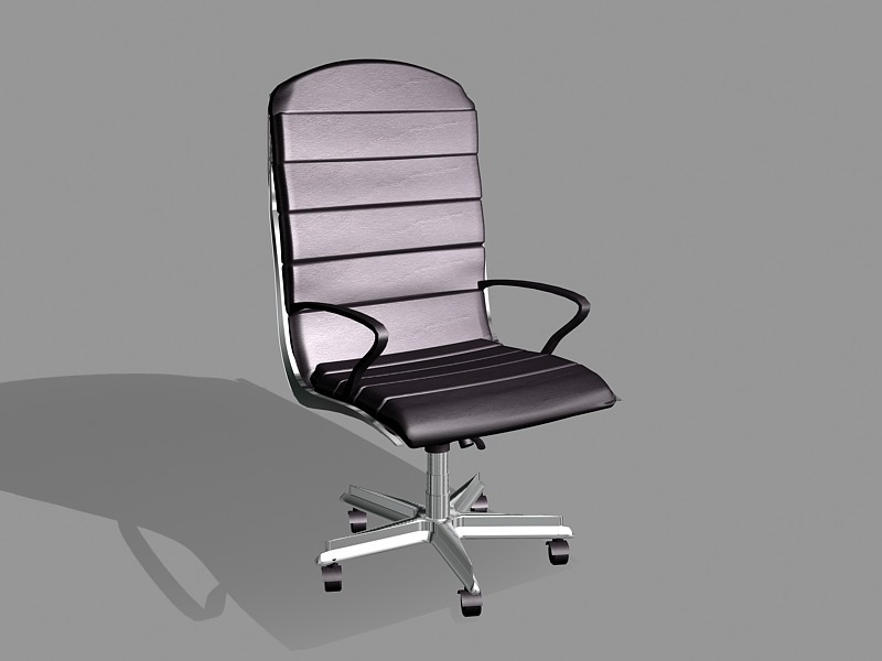 Home Office Desk Chair 3d rendering
