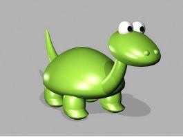 Toy Dinosaur Cartoon 3d preview