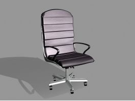 Home Office Desk Chair 3d preview
