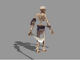 Undead Skeleton Warrior 3d preview