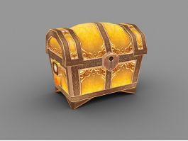 Treasure Chest Box 3d preview