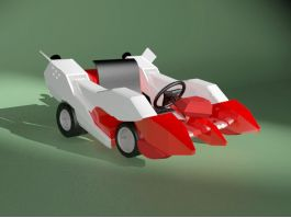 Go-Kart Car 3d preview