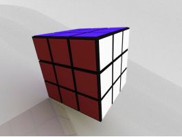 Magic Cube Toy 3d preview