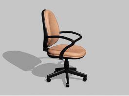 Modern Desk Chair 3d preview