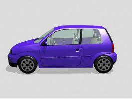 Small Mini Car 3d preview