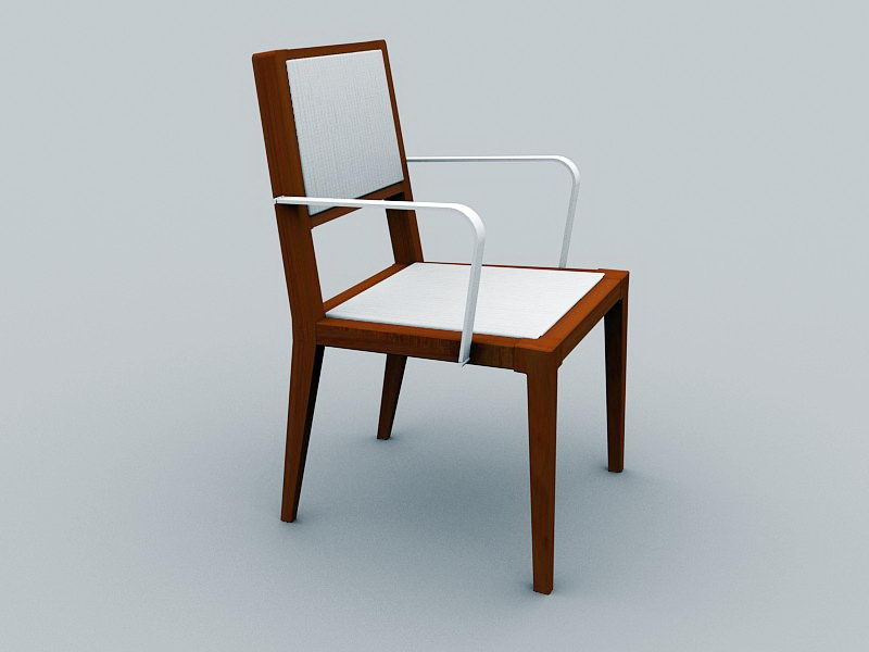 Old Antique Chair 3d rendering