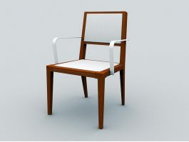 Old Antique Chair 3d preview