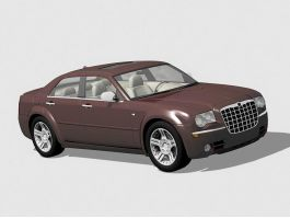 Chrysler 300 Car 3d preview