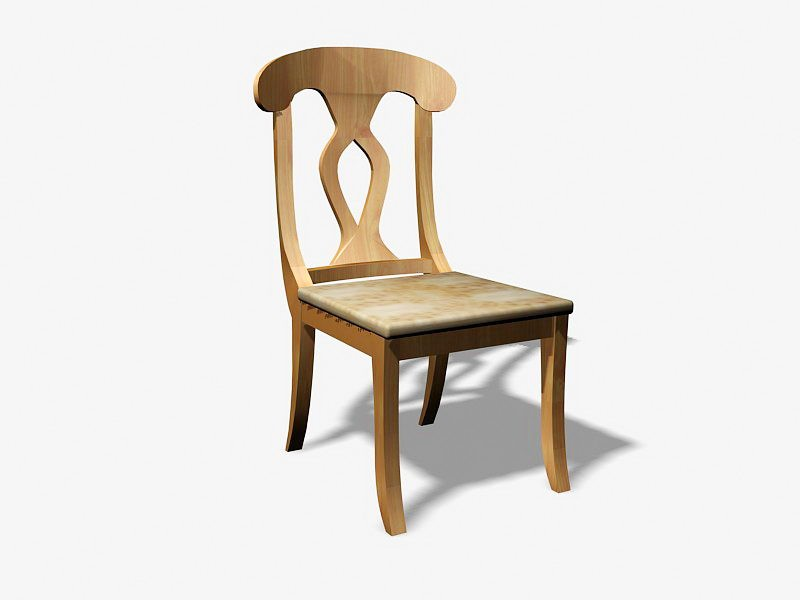 Dining Room Chair 3d rendering