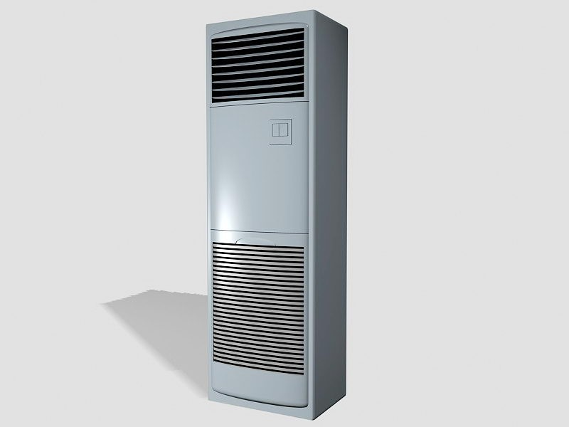 Tower Air Conditioner 3d rendering