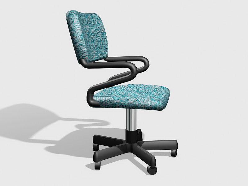 Computer Desk Chair 3d rendering