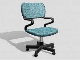 Computer Desk Chair 3d preview