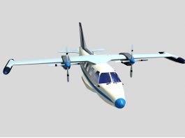 Old Prop Plane 3d preview