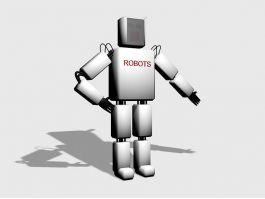 Simple Robot Concept Art 3d preview