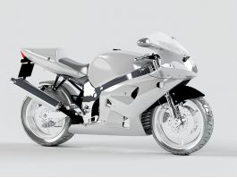 Exotic Motorcycle 3d preview