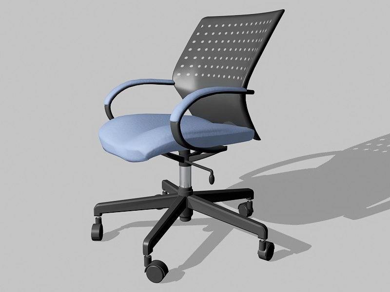 Office Depot Desk Chair 3d rendering