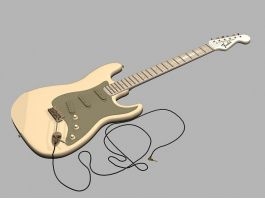 Electric Guitar 3d preview