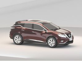 2015 Nissan Murano SUV 3d preview