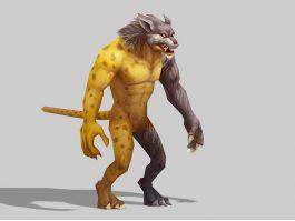 Anime Leopard Man 3d preview