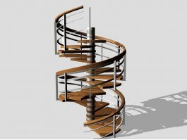 Home Spiral Staircase 3d preview