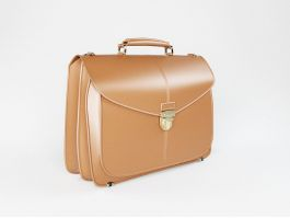 Men's Leather Briefcase 3d preview