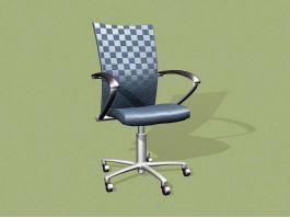 Office Swivel Desk Chair 3d preview