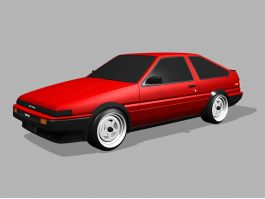 1983 Toyota AE86 3d preview