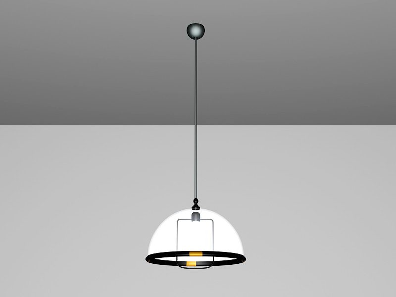 Pendant Dining Room Lighting 3d rendering