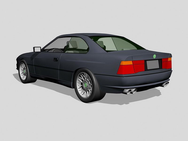 BMW E92 Coupe 3d rendering