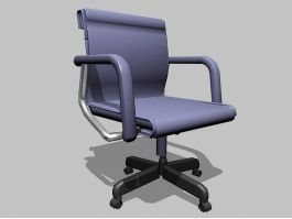 Swivel Desk Chair with Arms 3d preview